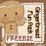 Gingerbread Fun Pack FREEBIE