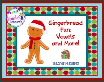 Gingerbread Man Literacy Fun