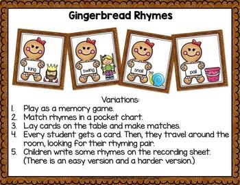 Gingerbread Fun for Little Learners