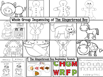 Gingerbread Galore! Literacy and Math Activities