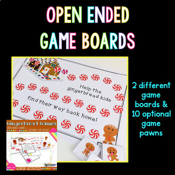 Gingerbread Games: Open Ended Games and Listening for Details