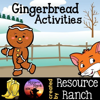 Gingerbread Man Activities and Printables