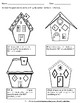 Gingerbread Geometry with Activities, Worksheets, Word Wall for 5th Grade