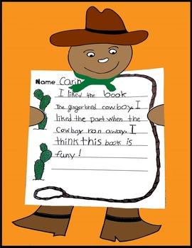Gingerbread, Gingerbread Activities, Gingerbread Writing, Gingerbread Cowboy Art