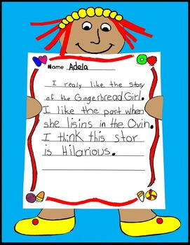 Gingerbread, Gingerbread Activities, Gingerbread Writing, Gingerbread Girl Craft