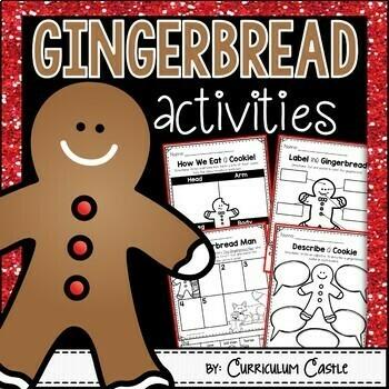 Gingerbread & Gingerbread Man Activities