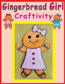 Gingerbread Girl Craftivity