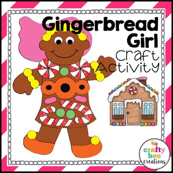 Gingerbread Girl Cut and Paste