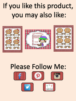 Gingerbread Girl Dolch Pre-Primer-Third Grade Sight Word Flashcards and Posters