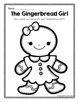 Gingerbread Girl FREEBIE!