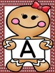 Gingerbread Girl Full Page Alphabet Letter Posters / Word Wall Headers