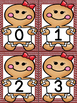 Gingerbread Girl Number Flashcards 0-100