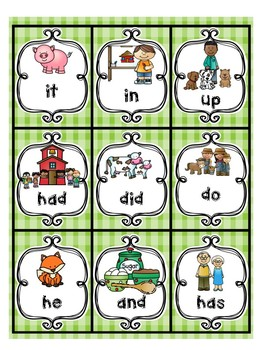 Sight Words Gingerbread Girl-Leap & Twirl