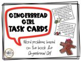 Gingerbread Girl Math Task Cards
