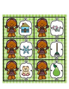 Rhyme-Gingerbread Girl