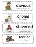 Gingerbread Girl Vocabulary Cards