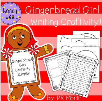 Gingerbread Girl Writing Craftivity