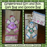 Gingerbread Craft Bags, Holiday Craft, Winter Craft