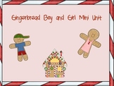 Gingerbread Girl and Boy Literacy Unit