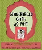 Gingerbread Glyph Activity (Winter Holiday Math & Language Arts Venn Diagram)