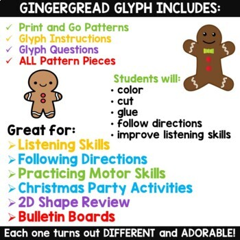 Gingerbread Glyph Craft