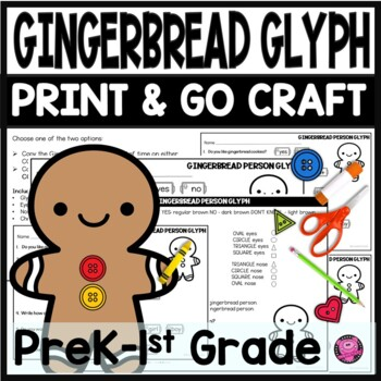 Gingerbread Glyph Craft