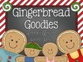 Gingerbread Goodies: Literacy Activities