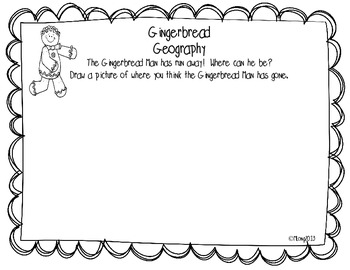 Gingerbread Math & Literacy Fun & Goodness!