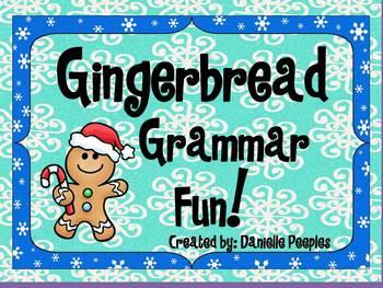 Gingerbread Grammar Fun!