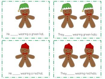 Gingerbread Grammar: Preschool Grammar Activities
