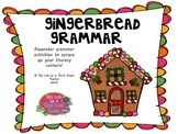 Gingerbread Grammar