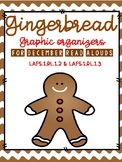 Gingerbread Graphic Organizers