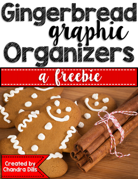 Gingerbread Graphic Organizers {freebie}