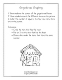 Gingerbread Graphing Recording Sheet