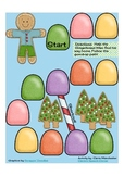 Gingerbread Gumdrop File Folder Game