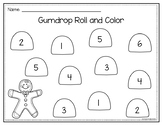 Gingerbread Gumdrop Roll and Color