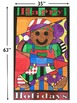 Gingerbread Man Activity Door Poster - great for the winter holidays!