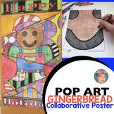 Gingerbread Man Activity - Collaborative Christmas Door Decoration!