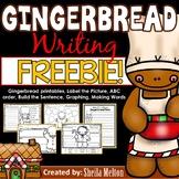 Gingerbread Writing Printables FREEBIE!