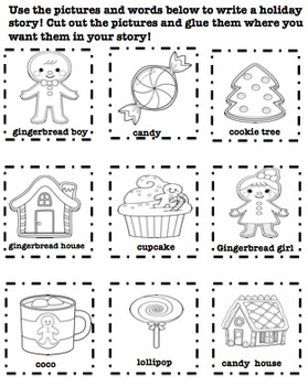 Gingerbread Holiday Picture Stories