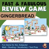 Gingerbread Man Game for Holiday Activities