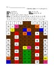 Gingerbread House 120 Chart Coloring