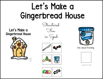 Gingerbread House Adapted Book