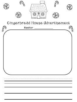 Gingerbread House Advertisement