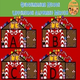 Gingerbread House Alphabet Match