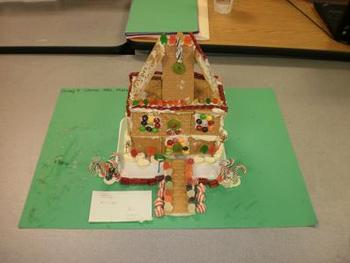 Gingerbread House Budget Sheet