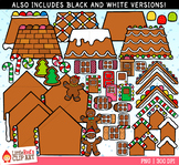 Gingerbread House Builder Christmas Clip Art