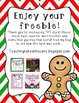 Gingerbread House Building - FREE Common Core Math Holiday