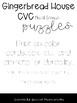 Gingerbread House CVC Medial Sounds Puzzles Phonemic Awareness Orton-Gillingham