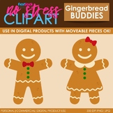 Gingerbread House Clip Art (Digital Use Ok!)